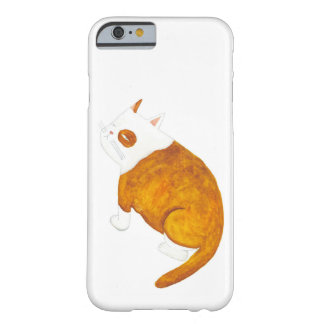 Brown and White Cat Barely There iPhone 6 Case