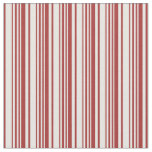 [ Thumbnail: Brown and White Colored Lines Pattern Fabric ]