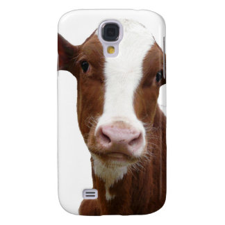 Brown and White Dairy Cow Samsung S4 Case