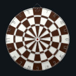 "Brown And White Dart Board<br><div class=""desc"">Brown And White Dart Board</div>"