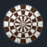 """Brown And White Dart Board<br><div class=""""desc"""">Brown And White Dart Board</div>"""
