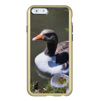 Brown and White Goose Incipio Feather Shine iPhone 6 Case