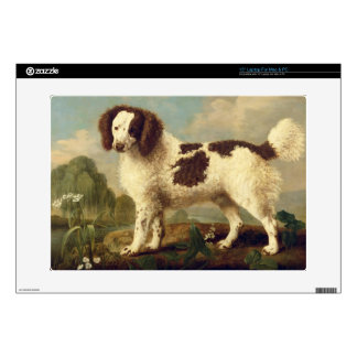 "Brown and White Norfolk or Water Spaniel, 1778 (oi Skin For 15"" Laptop"