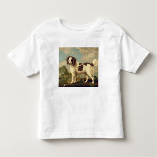 Brown and White Norfolk or Water Spaniel, 1778 (oi Toddler T-shirt