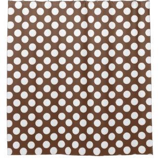 polka dot shower curtains zazzle. Black Bedroom Furniture Sets. Home Design Ideas