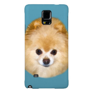 Brown and White Pomeranian Dog Galaxy Note 4 Case