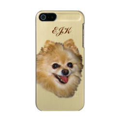 Incipio Feather Shine iPhone 5/5s Case with Pomeranian Phone Cases design