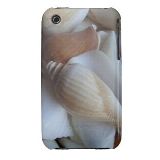 brown and white seashells iPhone 3 Case-Mate cases
