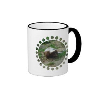 Brown and White Skunk Coffee Mug