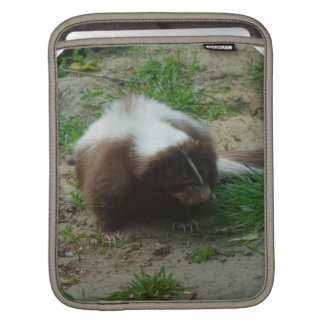 Brown and White Skunk  iPad Case Sleeve For iPads