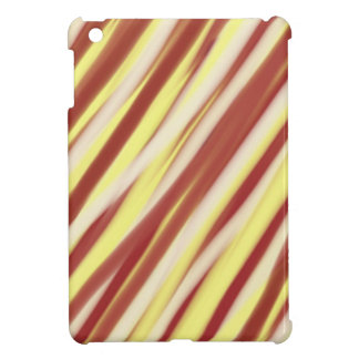 Brown and yellow stripes pattern | Abstract art iPad Mini Covers