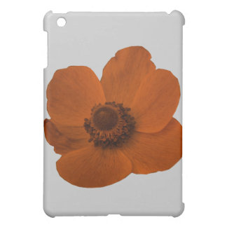 Brown Anemone  Cover For The iPad Mini
