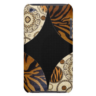Brown Animal Print Pattern Design iPod Case-Mate Case