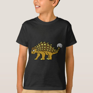 Brown Ankylosaurus T-Shirt