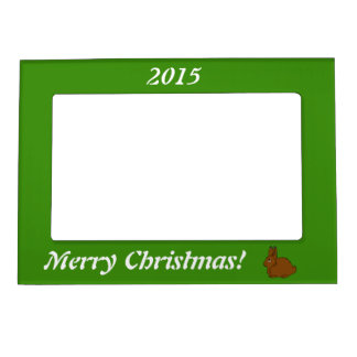 Brown Arctic Hare Magnetic Frame
