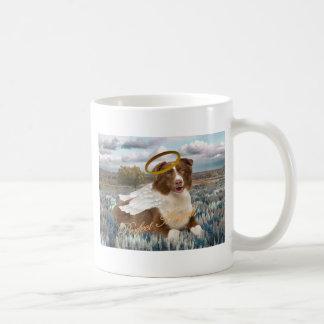 Brown Australian Shepherd Perfect Angel Gifts Classic White Coffee Mug