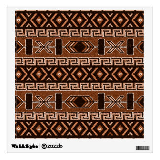 Brown Aztec Pattern Southwest Wall Decals
