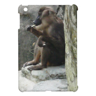 Brown Baboon Case For The iPad Mini