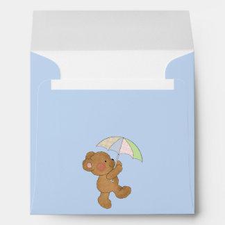 Brown Baby Bear Envelope