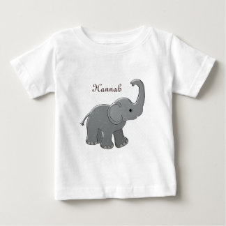 brown baby shower elephant baby T-Shirt