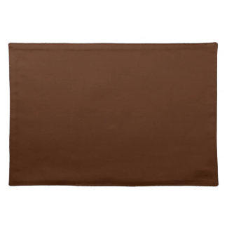 Brown Background on a Placemat