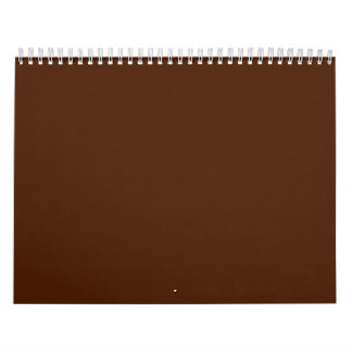 Brown Backgrounds on a Calendar