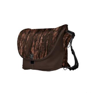 Brown Bark Camo Messenger Bag