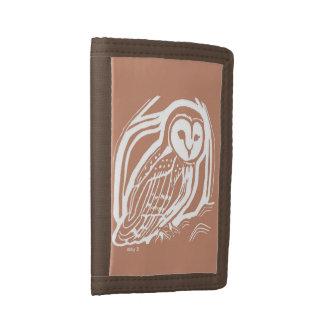 Brown Barn Owl Brown Wallet