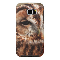 Brown Barn Owl Samsung Galaxy S6 Case