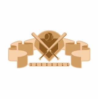 Brown Baseball logo Statuette