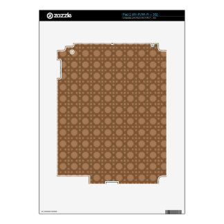 Brown Basket Weave Decal For iPad 2
