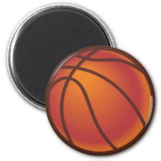 Brown Basketball Magnet