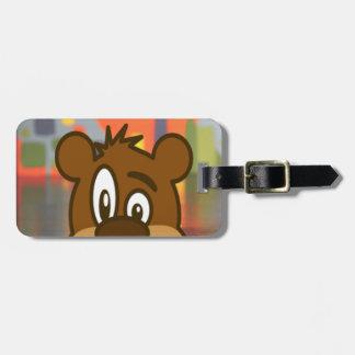Brown Bear Bag Tag