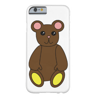 Brown Bear Barely There iPhone 6 Case