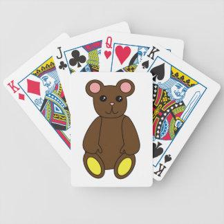 Brown Bear Bicycle® Playing Cards