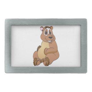 Brown Bear Cartoon Belt Buckle