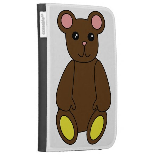 Brown Bear Caseable Case Kindle Keyboard Cases