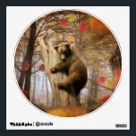 """Brown bear climbing on tree wall decal<br><div class=""""desc"""">""""bear cub climbing"""", bear, bears, """"bears in forest"""", """"bear andowl"""", """"bear owl"""", """"owl andbear"""" , """"owl bear"""" , """"grizzly bear"""", """"big bear"""", """"brown bear"""", """"russian bear"""", """"bear cub"""", """"ursus arctos"""", """"cute bear"""", """"bear pictures"""", """"cute teddy bears"""", """"brown bears"""", """"chubby bear"""", cubs, wild, nature, animal, tree, forest, wildlife, """"nature conservation"""", """"young...</div>"""