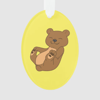 Brown Bear Cub Ornament