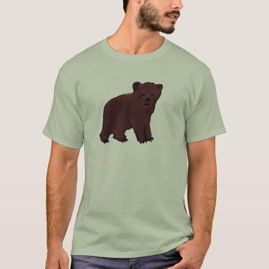 Brown Bear Cub Tshirt