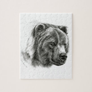 Brown Bear design by Schukina G054 Jigsaw Puzzle