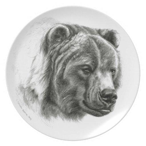 Brown Bear design by Schukina G054 Plato