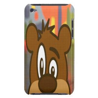 Brown Bear Face iPod Case-Mate Case