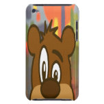 Brown Bear Face iPod Touch Case