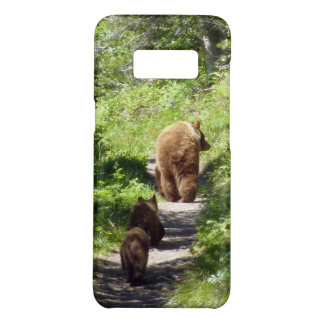 Brown Bear Family Case-Mate Samsung Galaxy S8 Case