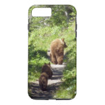 Brown Bear Family iPhone 7 Plus Case