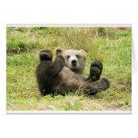 Brown Bear Fun Card