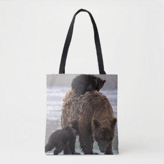 Brown Bear in Lake Clark National park Tote Bag