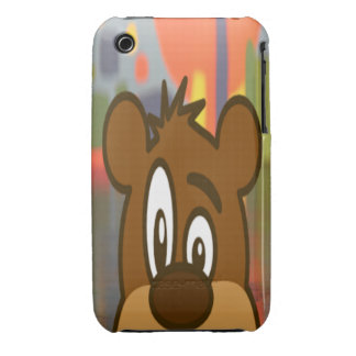 Brown Bear iPhone 3 Cover