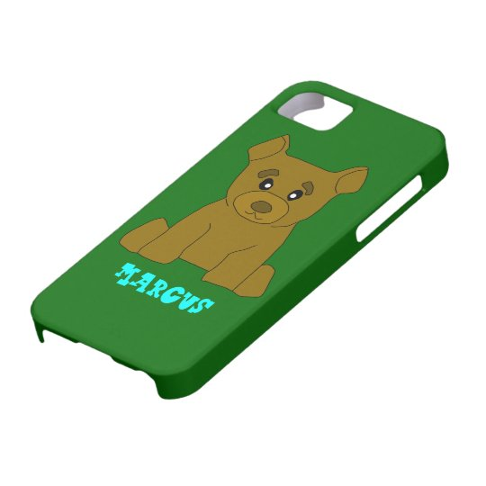 Brown Bear iPhone 5 Cover Template